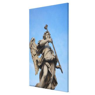 Angel with sponge on Sant Angelo Bridge the Canvas Prints