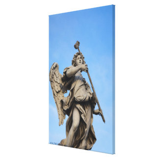 Angel with sponge on Sant Angelo Bridge, the Canvas Print