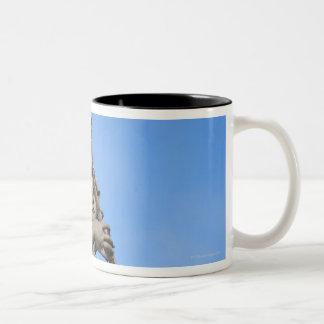 Angel with sponge on Sant Angelo Bridge, the Two-Tone Coffee Mug