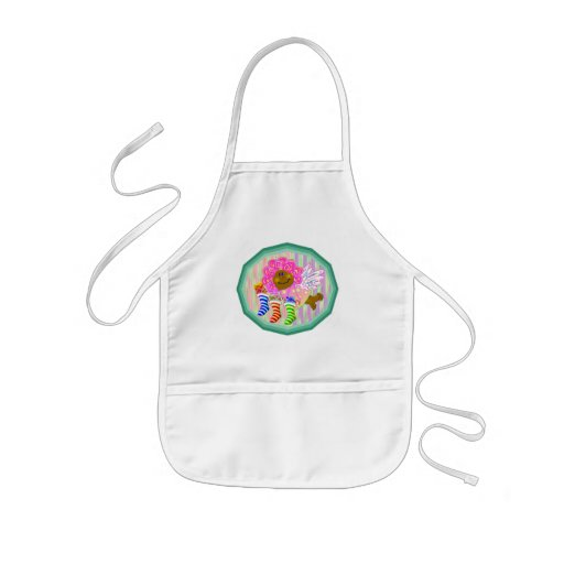 Angel with Stockings Gifts Aprons