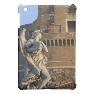 Angel with Superscription in front of the Castel iPad Mini Case