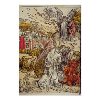 Angel with the Key of the Abyss 1498 Posters