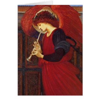 Angel with Trumpet, Burne-Jones Fine Art Card