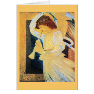 Angel with Trumpet, Burne-Jones Fine Art Card