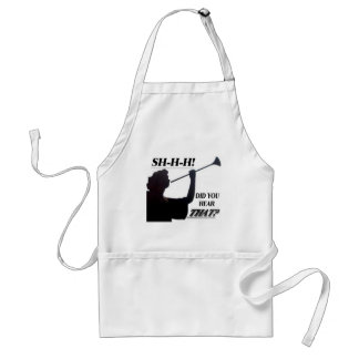 ANGEL WITH TRUMPET LT APRON