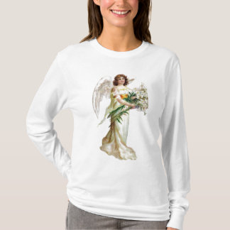 Angel With White Lilies T-Shirt
