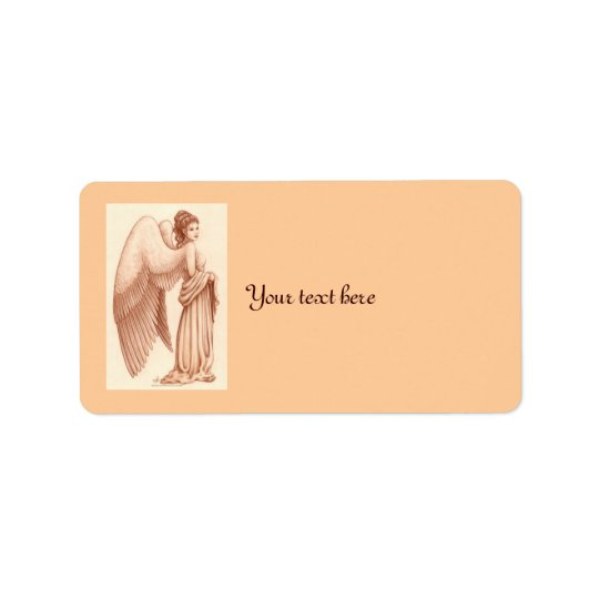 Angel Woman Address Label