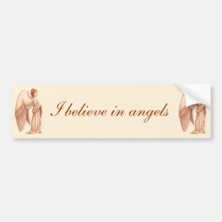 Angel Woman Bumper Sticker