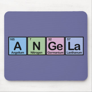 Angela made of Elements Mouse Mat