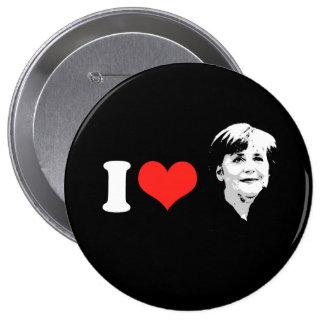 Angela Merkel 10 Cm Round Badge
