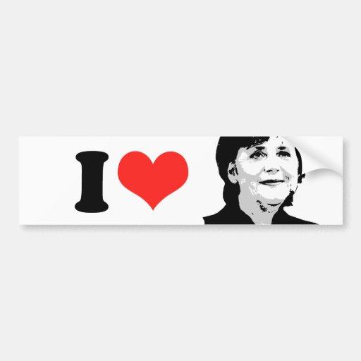 Angela Merkel Bumper Sticker