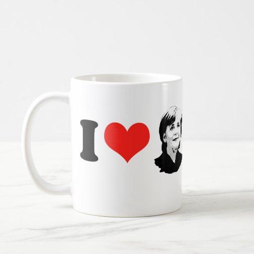 Angela Merkel Coffee Mugs