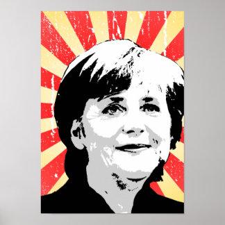 Angela Merkel Print