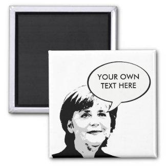 Angela Merkel Refrigerator Magnet