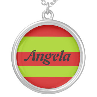 Angela Silver Plated Necklace