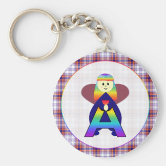 Angelbet Letter A Keychains