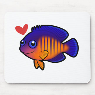 Angelfish 1 Love Mouse Mat