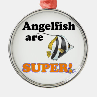 angelfish are super christmas ornament