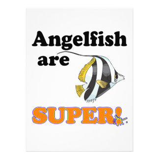 angelfish are super personalized announcements