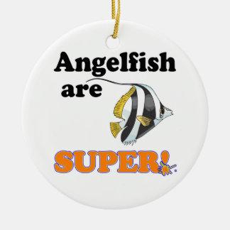 angelfish are super round ceramic decoration