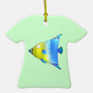 Angelfish Ceramic T-Shirt Decoration