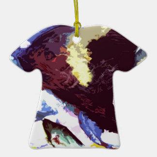 angelfish ceramic T-Shirt decoration