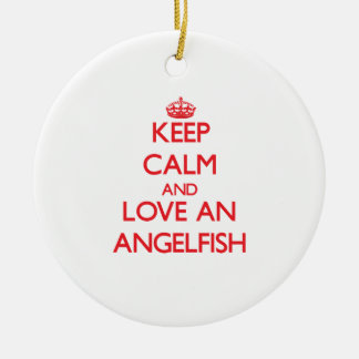 Angelfish Ornaments
