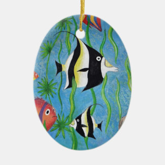 angelfish ornament