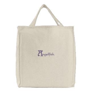 Angelfish Embroidered Bag