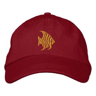 Angelfish Embroidered Hat