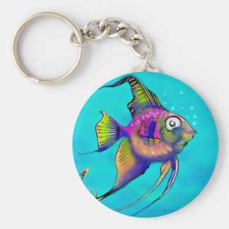 Angelfish Key Ring
