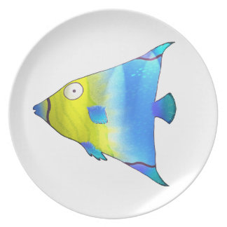 Angelfish Plate