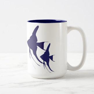 Angelfish Two-Tone Coffee Mug