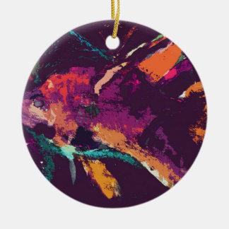 angelfish v2 christmas ornament