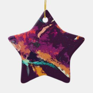 angelfish v2 ceramic star decoration