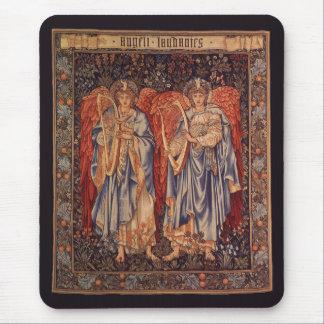 Angeli Laudantes, Vintage Angels by Burne Jones Mouse Pad