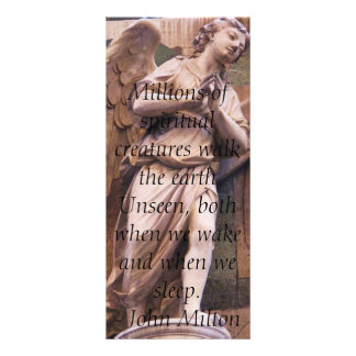 Angelic Angel Quotes -  Angel Quotation Custom Rack Card
