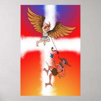 angelic battle poster