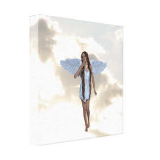 Angelic Cloud Dancer Canvas Print