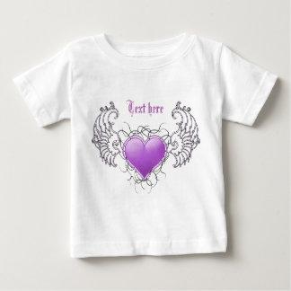 Angelic Crystal purple Tee Shirts