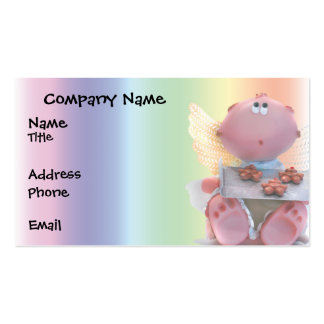 Angelic Doll with Fresh Cookies Business Card