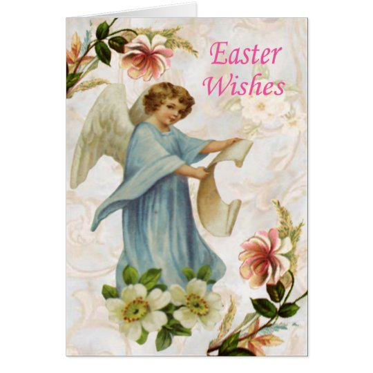 Angelic Easter Card