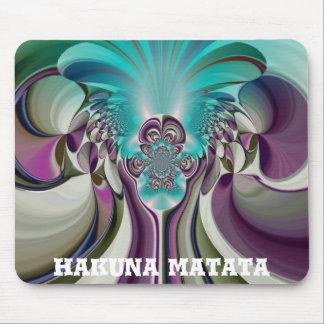 Angelic Hakuna Matata Purple Heart Custom Product Mouse Pad