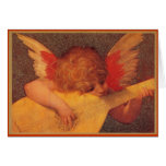 Angelic Musician - Christmas Greeting Card