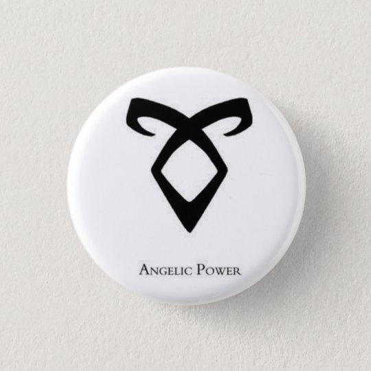 Angelic Power Rune Mortal Instruments 3 Cm Round