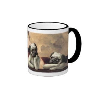 Angelic Pug Cherub Gift Items Mugs