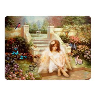 Angelic Serenity Garden Invitation