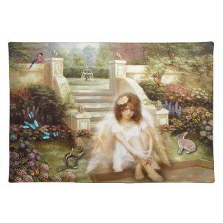 Angelic Serenity Garden Placemat Kitchen Dining