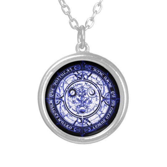 Angelic Spiritual Protection Amulet Silver Plated Necklace