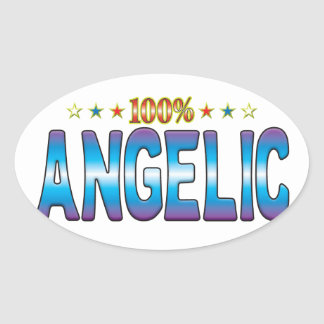 Angelic Star Tag v2 Sticker